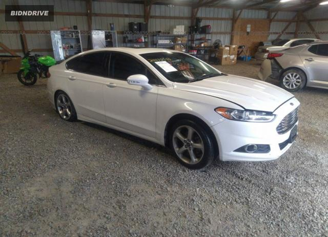 Lot #1641493898 2016 FORD FUSION SE salvage car