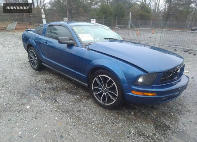 Lot #1641494765 2008 FORD MUSTANG DELUXE/PREMIUM salvage car