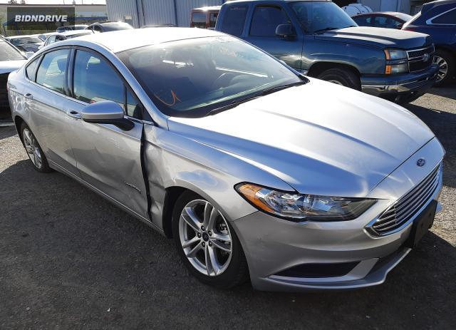 Lot #1641639148 2018 FORD FUSION SE salvage car