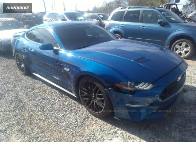Lot #1643057638 2018 FORD MUSTANG GT salvage car