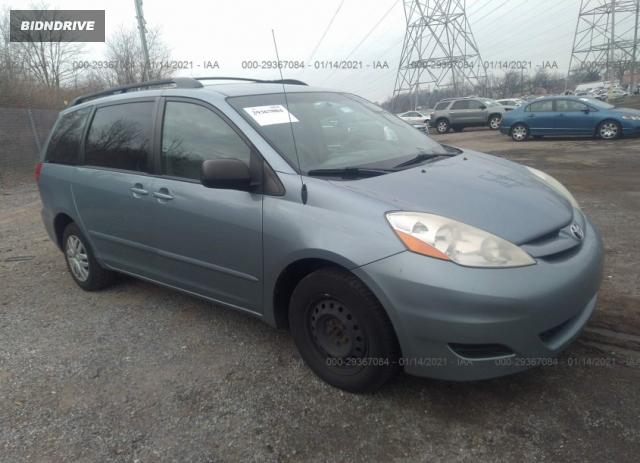Lot #1643106182 2010 TOYOTA SIENNA CE/LE salvage car