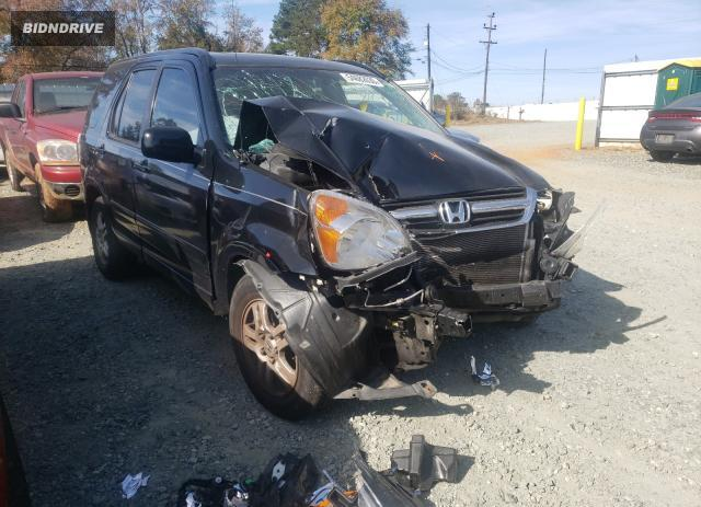 Lot #1648022835 2004 HONDA CR-V EX salvage car