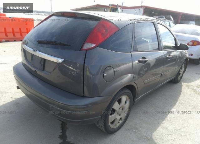 Lot #1653243220 2002 FORD FOCUS ZX5 salvage car