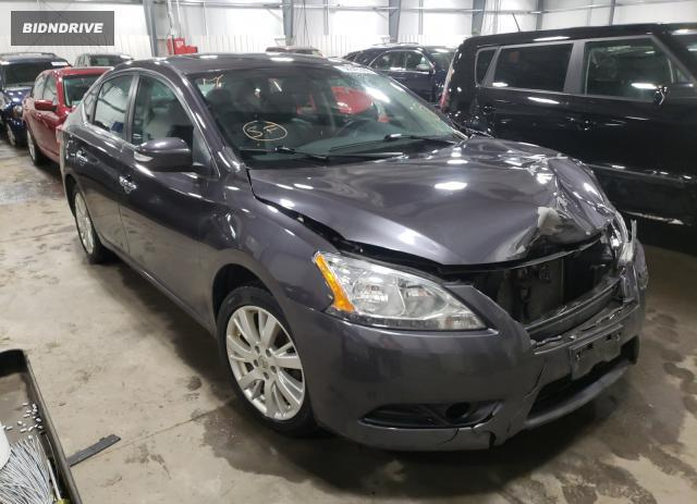 Lot #1657938492 2013 NISSAN SENTRA S salvage car