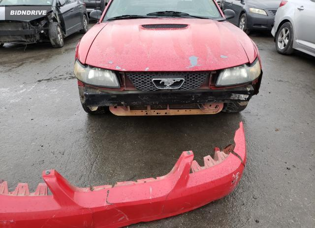 Lot #1658352048 2002 FORD MUSTANG salvage car
