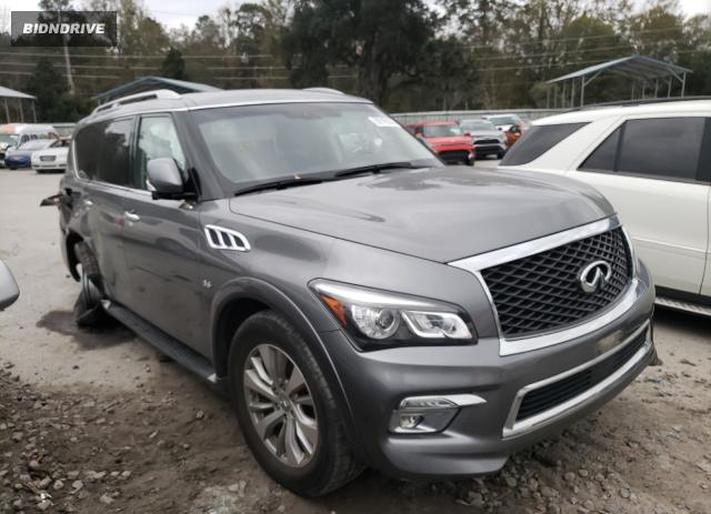Lot #1658352100 2017 INFINITI QX80 BASE salvage car