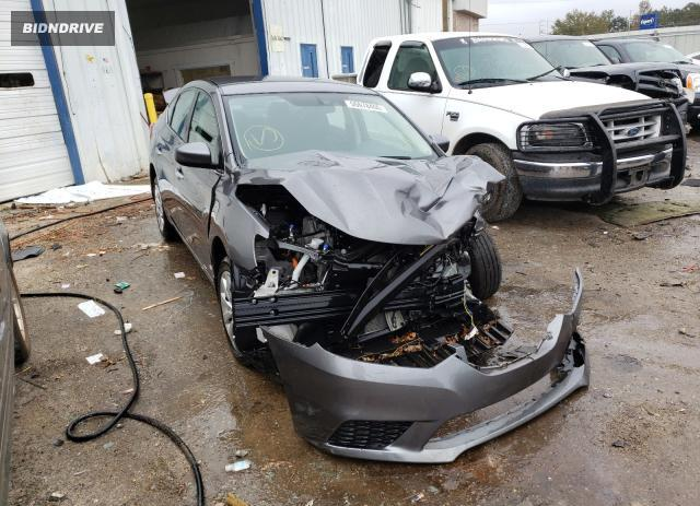 Lot #1658362305 2019 NISSAN SENTRA S salvage car