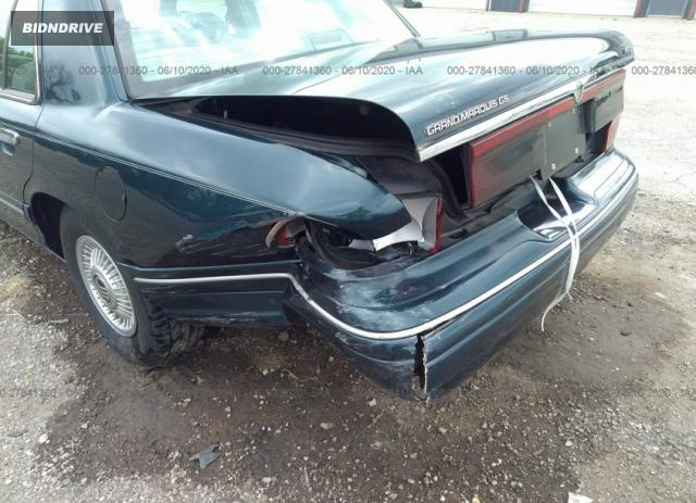 Lot #1659659488 1997 MERCURY GRAND MARQUIS GS salvage car