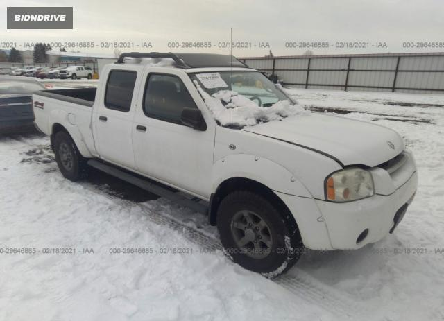 Lot #1659661970 2004 NISSAN FRONTIER 4WD XE salvage car