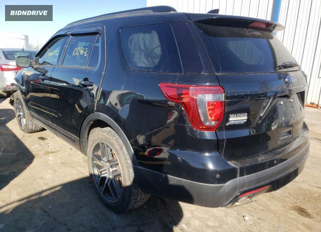Lot #1663923560 2017 FORD EXPLORER S salvage car