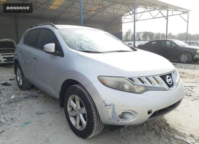 Lot #1673150788 2009 NISSAN MURANO S salvage car