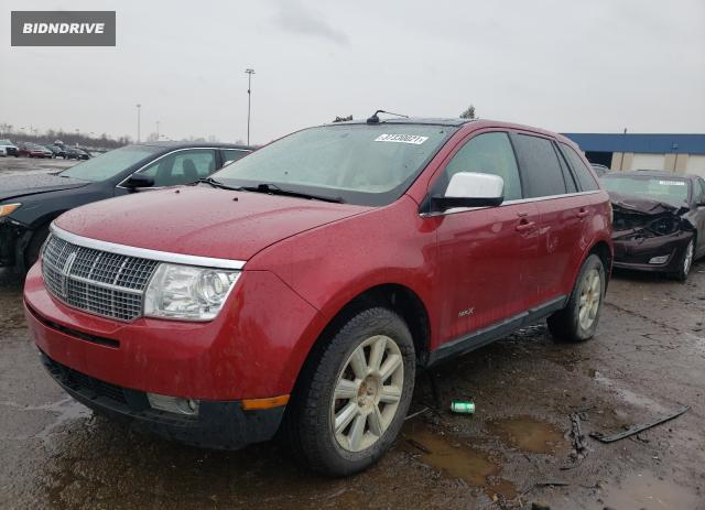 Lot #1677331230 2007 LINCOLN MKX salvage car