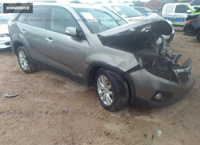 Lot #1677700212 2011 KIA SORENTO EX salvage car