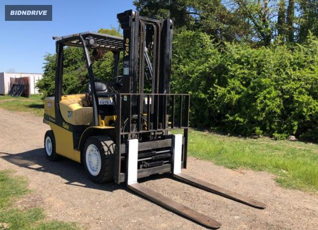 Lot #1677701062 2007 YALE FORKLIFT salvage car