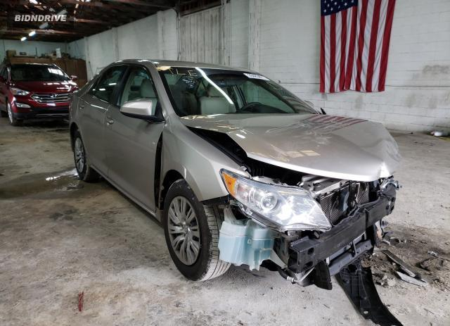 Lot #1677756110 2014 TOYOTA CAMRY L salvage car