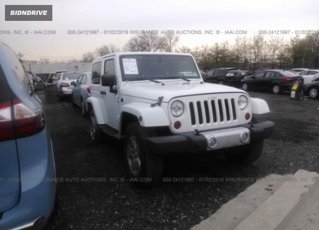 Lot #1678709848 2012 JEEP WRANGLER SAHARA salvage car