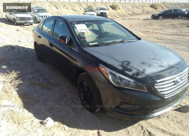 Lot #1678712212 2016 HYUNDAI SONATA 2.4L SE salvage car