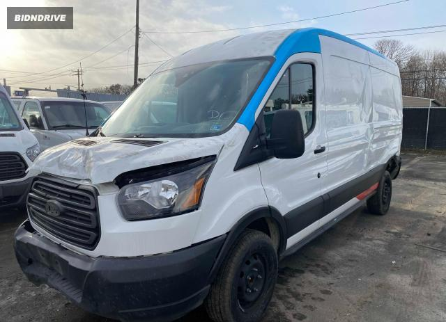 Lot #1679839518 2019 FORD TRANSIT T- salvage car