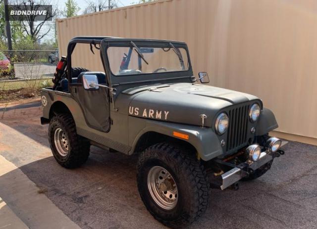 Lot #1680314902 1959 JEEP WILLEYS salvage car