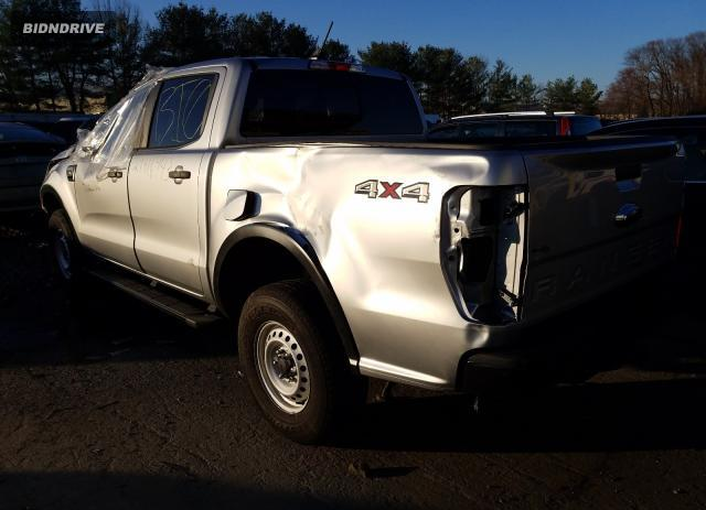 Lot #1680350008 2020 FORD RANGER SUP salvage car
