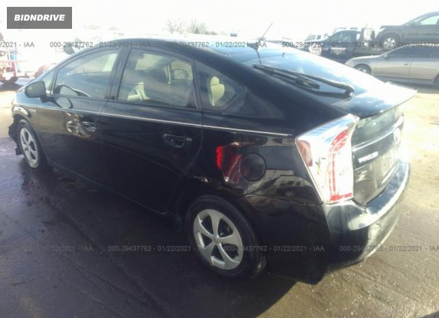 Lot #1680678038 2014 TOYOTA PRIUS FOUR/FIVE/THREE/ONE/TWO salvage car