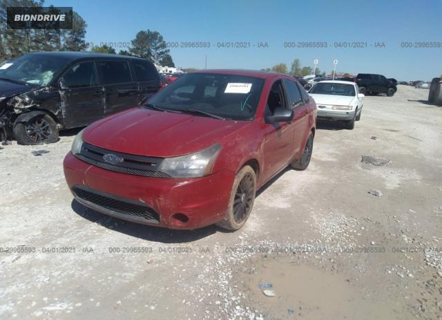 Lot #1680678568 2011 FORD FOCUS SES salvage car