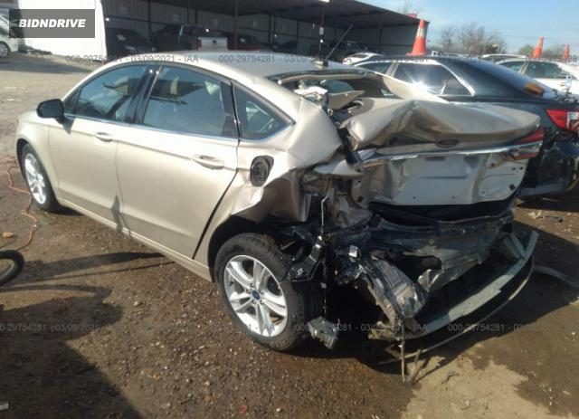Lot #1680678852 2018 FORD FUSION SE salvage car