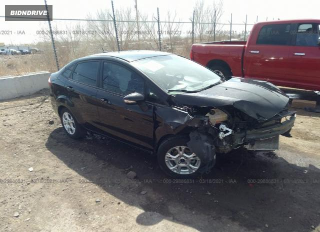 Lot #1680684038 2014 FORD FIESTA SE salvage car