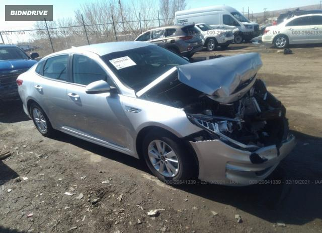 Lot #1680684058 2017 KIA OPTIMA LX salvage car