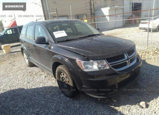 Lot #1680684138 2015 DODGE JOURNEY AMERICAN VALUE PKG salvage car