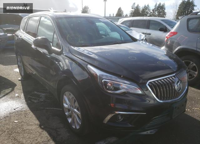 Lot #1680788145 2017 BUICK ENVISION P salvage car