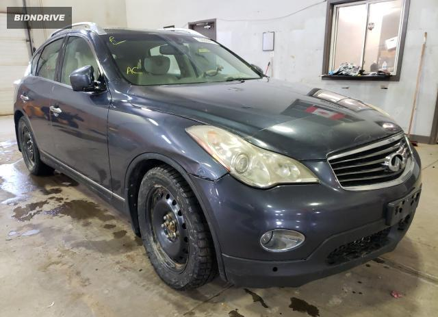Lot #1680802842 2008 INFINITI EX35 BASE salvage car