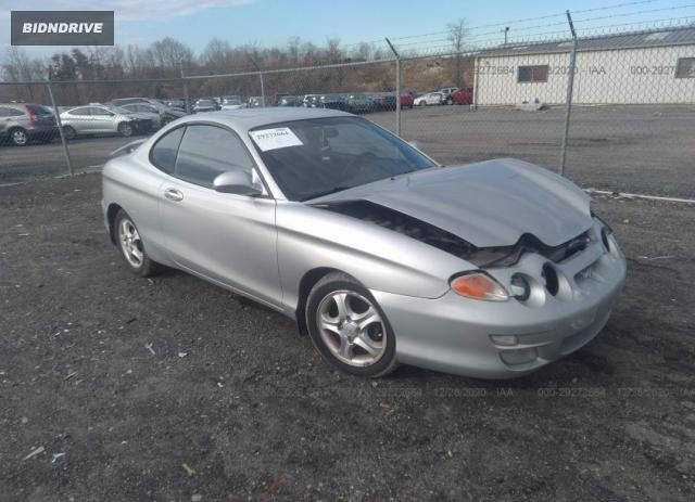 Lot #1681179875 2001 HYUNDAI TIBURON salvage car