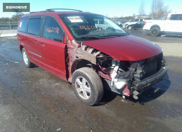 Lot #1681688572 2010 DODGE GRAND CARAVAN SXT salvage car