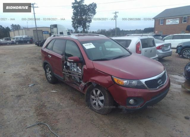 Lot #1681688592 2011 KIA SORENTO LX salvage car