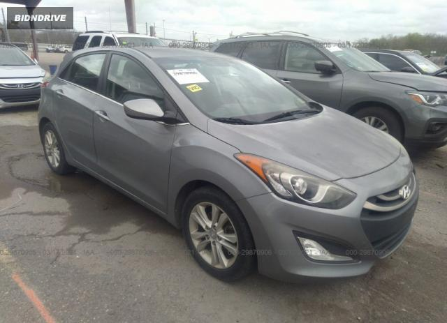 Lot #1681688765 2014 HYUNDAI ELANTRA GT salvage car