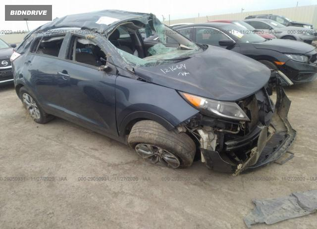 Lot #1681688900 2015 KIA SPORTAGE LX salvage car