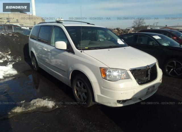 Lot #1682188770 2009 CHRYSLER TOWN & COUNTRY TOURING salvage car