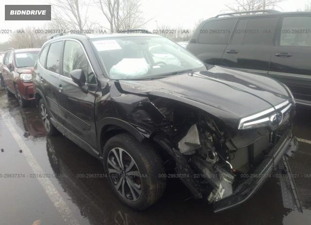 Lot #1682188808 2019 SUBARU FORESTER LIMITED salvage car