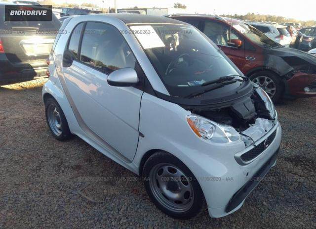 Lot #1682714388 2015 SMART FORTWO PASSION/PURE salvage car