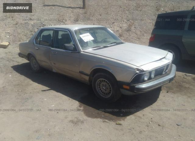 Lot #1683718922 1985 BMW 735 I salvage car