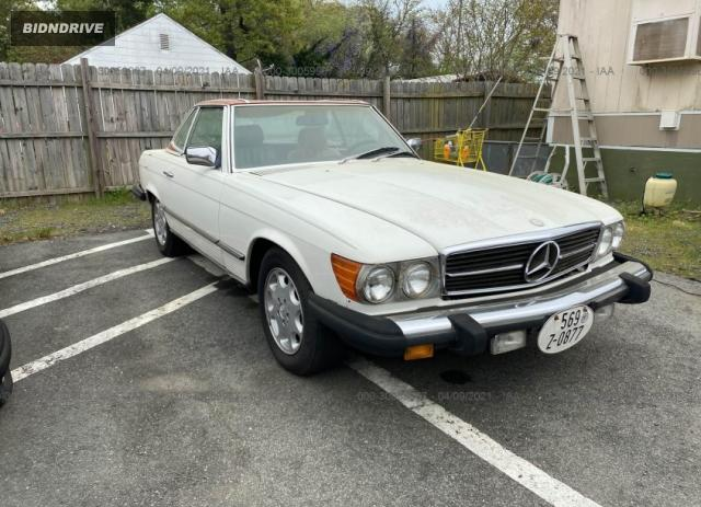 Lot #1684218772 1985 MERCEDES-BENZ 380 SL salvage car