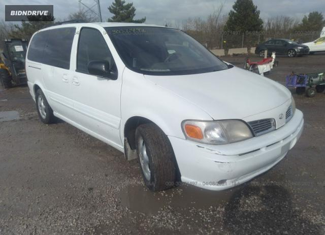 Lot #1684224022 2001 OLDSMOBILE SILHOUETTE GLS/MOBILITY GLS salvage car