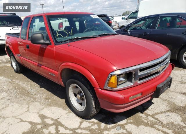 Lot #1684376230 1997 CHEVROLET S TRUCK S1 salvage car