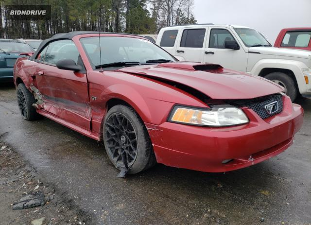 Lot #1684792865 2003 FORD MUSTANG GT salvage car