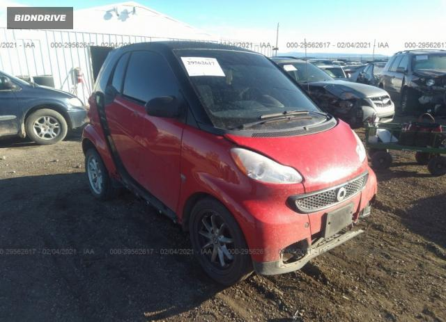 Lot #1685139738 2013 SMART FORTWO PURE/PASSION salvage car