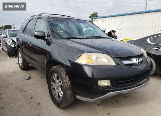 Lot #1688219665 2005 ACURA MDX TOURIN salvage car