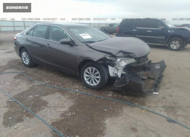Lot #1688595822 2017 TOYOTA CAMRY LE salvage car