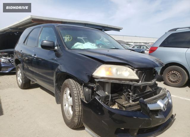 Lot #1690794118 2005 ACURA MDX salvage car