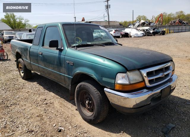 Lot #1691256958 1999 FORD RANGER SUP salvage car